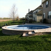 Ultimate Above Ground Swimming Pool